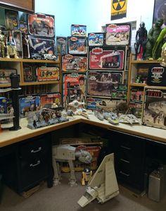 My #vintage #kenner #starwars collection