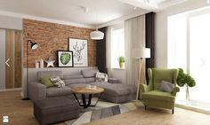white home decor Small Living Rooms, Home Living Room, Living Room Designs, Living Room Decor, Home Interior, Interior Design, Inside A House, Living Dining Combo, Studio Living