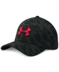 UNDER ARMOUR Under Armour Men'S Printed Heatgear Logo Hat. #underarmour # hats, gloves