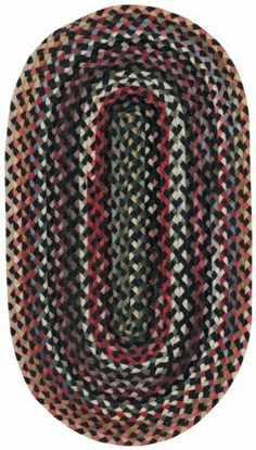 "1'8"" x 2'6"" Oval Made-to-Order Oscar Isberian Rugs Accent Rug Darkest Black Color Hand Braided USA ""St. Johnsbury Collection"" by Oscar Isberian Rugs. $66.48. Contemporary Style. Hand Braided Wool (95%) and Other Fibers (5%), Made in USA. Rug is Made to Order, ships within 1 to 3 weeks. Dimensions: 1'8"" x 2'6"" Oval. St. Johnsbury all-wool rugs are hand crafted with unique double braided tape braid. The heavy, wide design is enhanced by classic colors. Antique finish in ..."