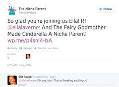 I'm going to #NicheParent14!  Check out more here:  http://www.gofundme.com/ellalavernespeaks
