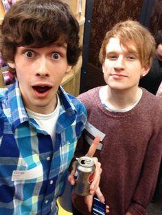 Tom Burns and Luke Cutforth