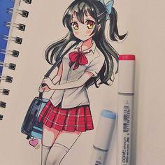 I drew @mariac.arts cuuute OC, srsly thank you so muuch for joining my Raffle/request! #meiririh_10k_oc ive been having fun drawings your cuute ocs!!!!  hope you like it!!! #drawing #traditionalart #traditional #animeart #anime #instaart #instaanime #kawaiigirl #kawaii #cuteart #cute #moe #copicart #artistoninstagram #art #animestyle #artoftheday #draw #copic #animegirl #cutecute #instaartist #artists #art #cuteanime #schoolgirl #animedraw #animeworld