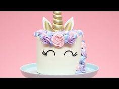 How to make a Unicorn Cake   Rosanna Pansino   Nerdy Nummies