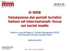 web-research-project-amadeus-mtm-rrapporto by Andrea Rossi via Slideshare