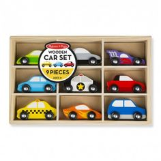 Giocattolo in legno Melissa and Doug Set Macchinine Car Set cod. 13178  https://www.kerek.it/store/index.php?id_product=2010&controller=product&id_lang=1