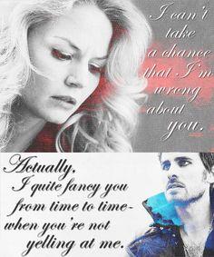 Emma and Hook #OnceUponATime