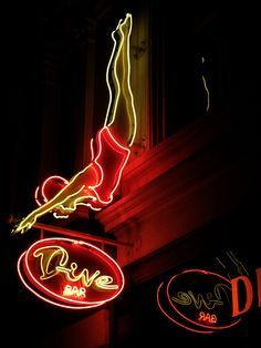 Dive Bar, San Jose, CA by Robby Virus, via Flickr
