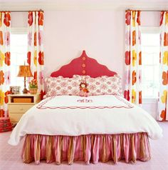 """18 Adorable Girl Rooms: Statement of Style (via Parents.com)    Caitlin says, """" I want to sleep in this room!"""""""