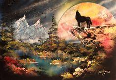 Moonlight  Wolf Lg (96 pieces)