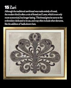 Exquisite embroideries- ZARI