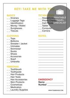 When I'm packing, usually last minute, I always find myself scribbling notes onto scrap pieces of paper about what I need to pack. I thought it would be wise to finally put together a packing list that I could use when we go on a trip, and I'm also sharing it with you! You canRead More