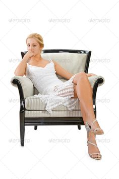 young woman sitting on chair against adult, attractive, background, beautiful, beauty, blonde, body, brunette, business, caucasian, chair, cute, dress, elegance, elegant, face, fashion, female, girl, glamour, hair, happy, human, isolated, lady, lifestyle, looking, lovely, makeup, model, one, people, person, portrait, posing, pretty, sensual, sensuality, sexy, sit, sitting, smile, studio, suit, white, woman, women, young, youth, young woman sitting on chair against