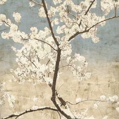 Cherry Blossoms I Art Print at AllPosters.com