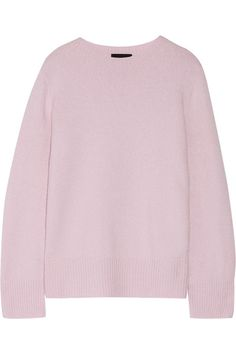 We love the soft lilac hue of The Row's 'Sibel' sweater. Designed with knuckle-grazing sleeves, this pared-back style is knitted from a blend of wool and cashmere and finished with ribbed trims. Team yours with denim and slides.