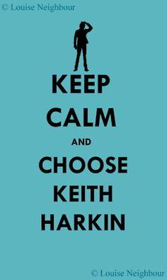 .Keith Harkin!