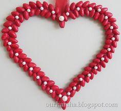 Pista Shell Heart love (1)