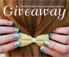 #Jamberry #Giveaway! Enter to win $25 gift card for #nailart from Nail Embellishments by 11:59pm EST on June 25, 2014.