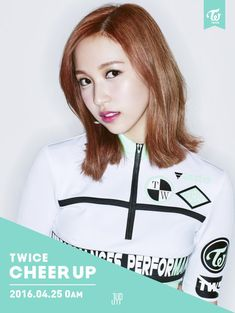 "Twice | Mina | Cheer Up Comeback Photos ""Once a fan, TWICE the fun!"" #JYP"