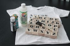 I was at the dollar store the other day and they had some plain white v-neck tees in my youngest son's size. I brought one home for him and decided to make a fun alphabet shirt he could wear to his first day of kindergarten in a few weeks. We both love it! It was …