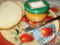 Nátierka Diabolské toasty - Recept
