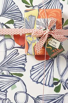 Anthropologie - Paradisia Wrapping Paper