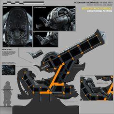 BEN PROCTER // ONLINE PORTFOLIO - PROMETHEUS - Space JockeyChair