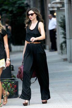 Miranda Kerr Brings Her Best Friend Along For a Shoot