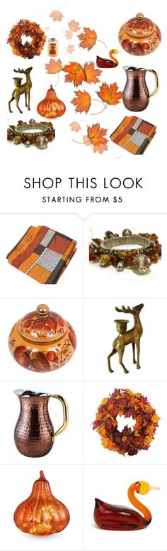 """""""Fall In Love"""" by levintagegalleria on Polyvore featuring interior, interiors, interior design, home, home decor, interior decorating, Old Dutch, Improvements and Holiday Memories"""