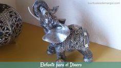 EL ELEFANTE CON DINERO EN LA TROMPA El día 29 de cada mes pon un billete en la trompa del elefante, del valor más bajo que exista en tu país.
