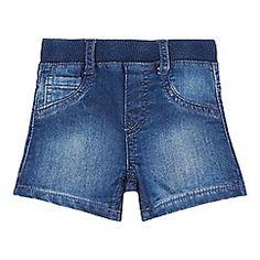 Levi's - Baby boys' 'Letoh' blue denim shorts