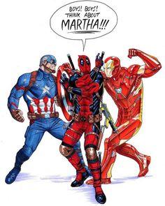 LOL  #civilwar #deadpool #captainamerica #ironman #marvel