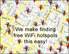 Free WiFi hotspots wi-fi cafes coffee shops hotels wireless airports (what is wifi)