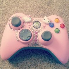 My kind of a controller.   Hell Yeah Pink Things ♥