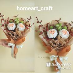 Korean wrapping bouquet of flowers Felt Flower Bouquet, Bouquet Wrap, Felt Flowers, Home Art, Wrapping, Wraps, Korean, Channel, Ideas