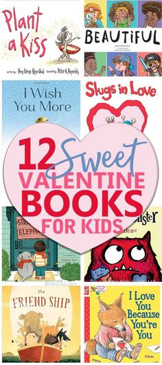 Valentine's Day gift idea, Valentine's Day Book for Kids, Picture Books for Kids, Valentine Books for Kids, Valentine Gifts for kids via /brendidblog/