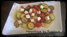 Pâtes légumes Feta ( 4  personnes )