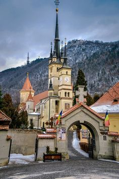 Romania Travel - Fun Things to Do in Romania - Bucket Lists Brasov Romania, Bucharest Romania, Europe On A Budget, Budget Travel, Transylvania Romania, Visit Romania, Romania Travel, Culture Travel, Kirchen