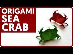 Origami Sea Crab (Jun Maekawa)