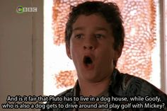 """When he made this VERY valid argument regarding classic Disney characters.   Community Post: 13 Times Louis Stevens Was The Best Damn Character On """"Even Stevens"""""""