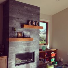 Custom cherry wood fireplace mantels. Thanks for the pictures! #customcornersllc #customcorners #customcabinets #cherrywood #cherrymantel #custommantels #custommantel #modernmantel #etsy #etsyshop