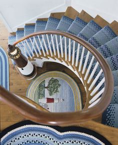 Custom stairway with