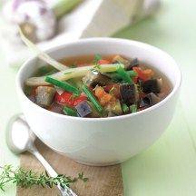 Soupe de légumes à la provençale