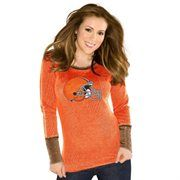 Touch by Alyssa Milano Cleveland Browns Ladies Quick Pass Thermal - Orange