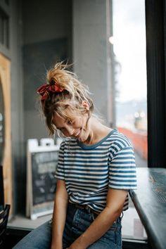 25 ideas sobre cómo usar un pañuelo en la cabeza - Guía Femenina Cute Fashion, Fall Fashion Outfits, Trendy Fashion, Autumn Fashion, Summer Outfits, Womens Fashion, Fashion Clothes, Style Fashion, Boy Fashion