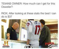 Pawn Stars, Football Memes, Texans, American Football, Champs, Nfl, Jokes, Baseball Cards, Humor