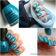 Alenka's beauty: Nubar #NE121-7 Hot Blue...