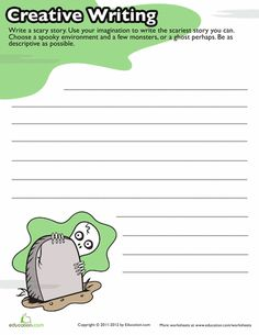 Kick-start creepy creativity with these Halloween writing prompts which give kids the framework and support they need to pen their very own tale. Halloween Writing Prompts, Writing Prompts 2nd Grade, Kindergarten Writing Prompts, Writing Prompts For Writers, Picture Writing Prompts, Kindergarten Class, Writing Ideas, Writing Skills, Creative Writing Topics