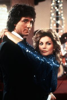 Bobby and Jenna at the Oil Barons Ball Elvis And Priscilla, Priscilla Presley, Elvis Presley, Patrick Duffy, Dallas Tv Show, 80s Tv, Sci Fi Shows, New Actors, Texas