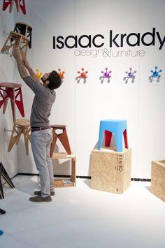 ICFF 2012 by Isaac Krady, via Behance